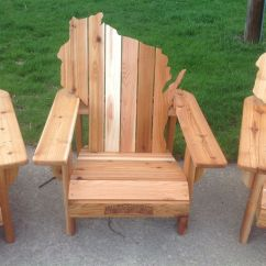 Adirondack Chairs Made In Usa Target Shower Chair Custom Personalized Cedar Wisconsin