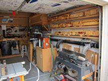 Wood Working Garage Six Finger Firemen Woodworking