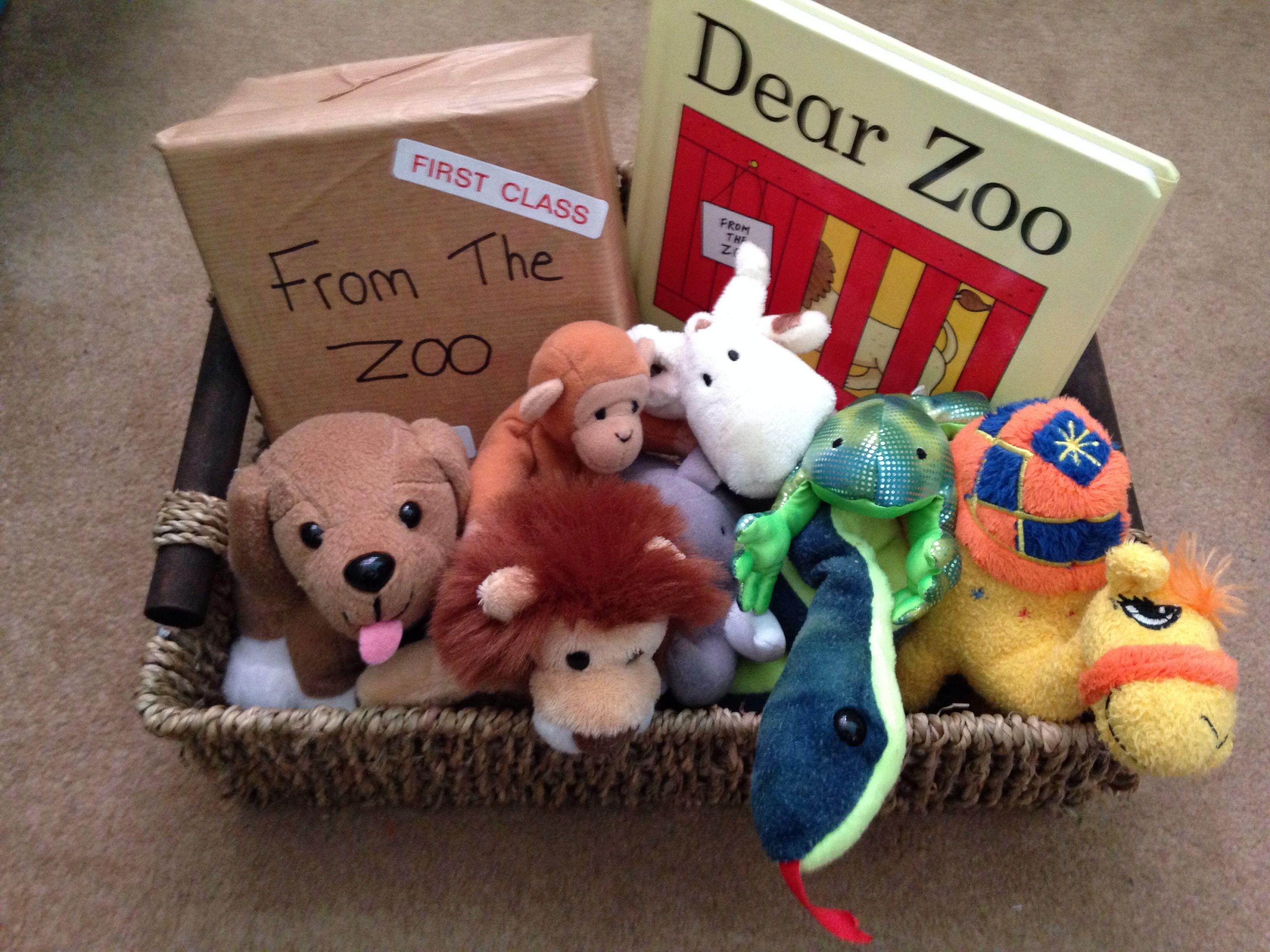 Dear Zoo Story Basket Dearzoo Babyplay Storttime