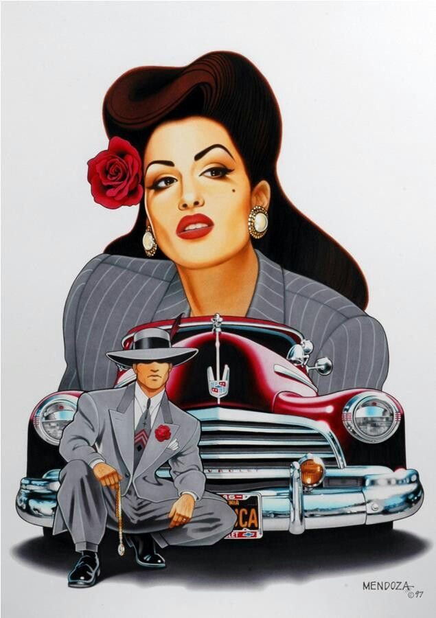 Pachuco Style Girls