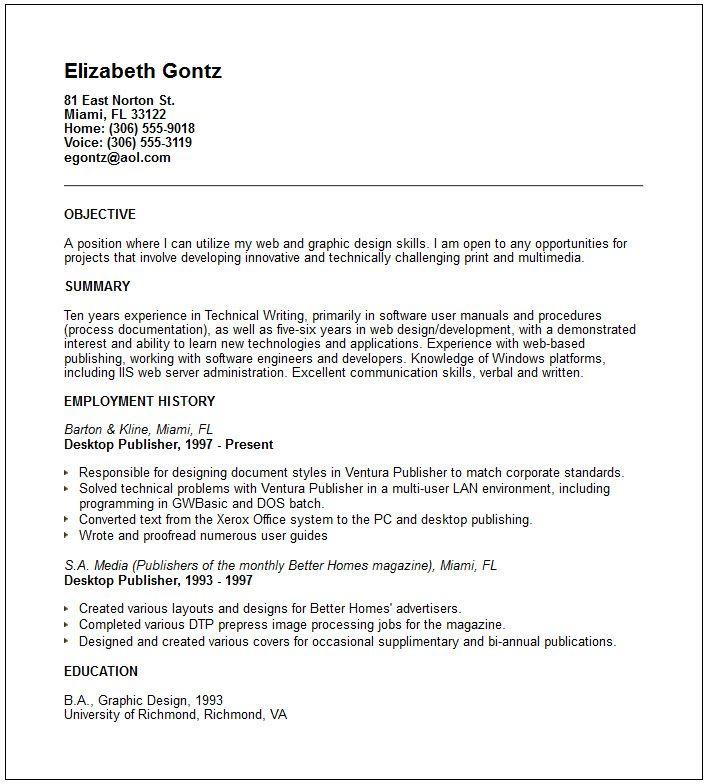 Self Employed Resume Templates Self Employed Resume Template