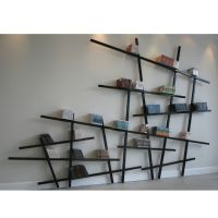 Wall Mounted Bookshelves Designs:unique-Wall-Mounted ...