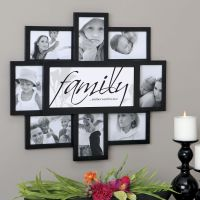 Felicite 8 Family Frame Collage Wall Frame | House - Home ...