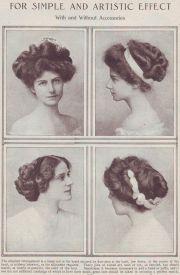 edwardian hairstyles 1900-1910