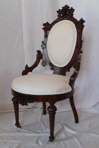 Jelliff Victorian Walnut Renaissance Revival Side Chair ...