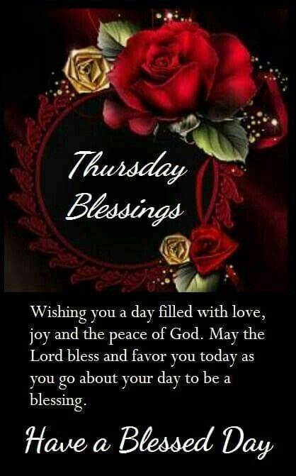 Change Thursday And Blessings
