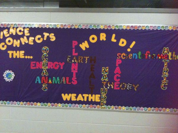 Science Lab Bulletin Board