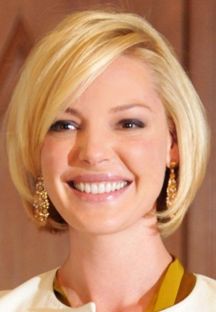 Short Bob Hairstyle For Round Face Shapes Cute Short Haircuts