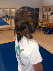 competition cheer hairstyles
