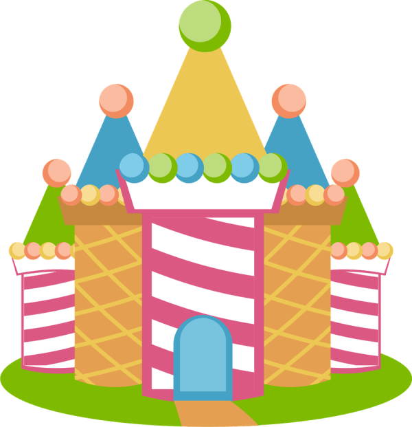 candyland print and cut svg
