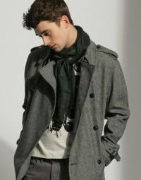 Guys can wear scarves too | Clothes | Pinterest | Men scarf