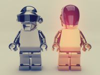 Daft Punk Lego Model Free Download On http://ww.fliso