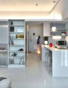 Nice studio apartment kitchens intended for existing property also mal byte ek pln chytreho designu home ideas pinterest rh za