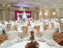 Elegant #weddingsetup In Adelaide Ballroom