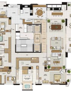 Planos para casa con habitaciones house plansapartment floor also graficos interesantes de rh pinterest