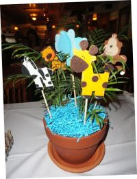 Baby Shower Centerpiece Ideas | Safari Baby Shower ...
