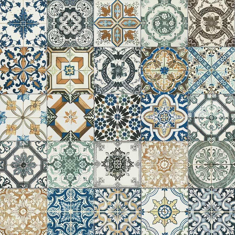 20x20cm Nikea mix pattern tile set  Laundry Kitchens and
