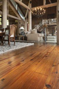 Antique reclaimed wood flooring  Heart Pine, cabin grade ...