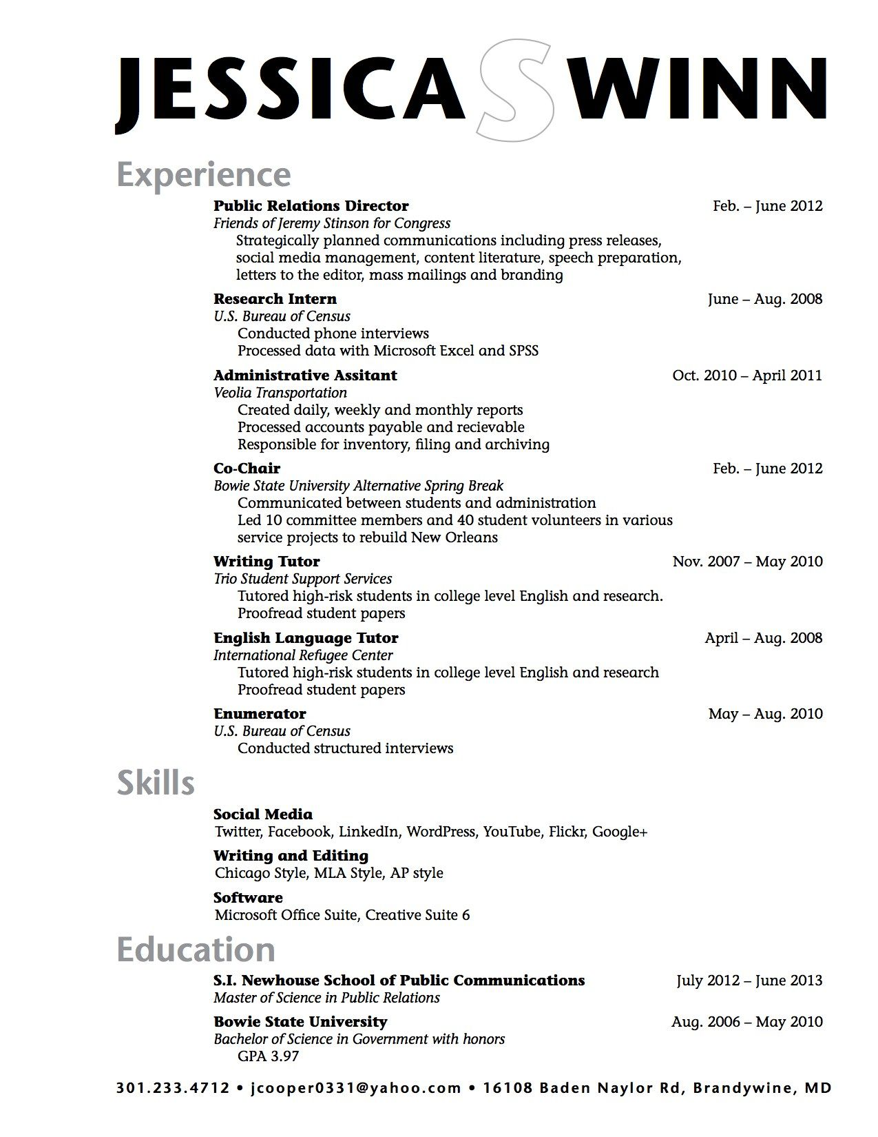 Education On Resume High School Sample High School Student Resume Example Resume