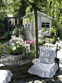 Shabby Chic Garden Decor