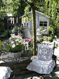 Shabby Chic Garden Decor | Shabby Chic garden~ | Gardens ...