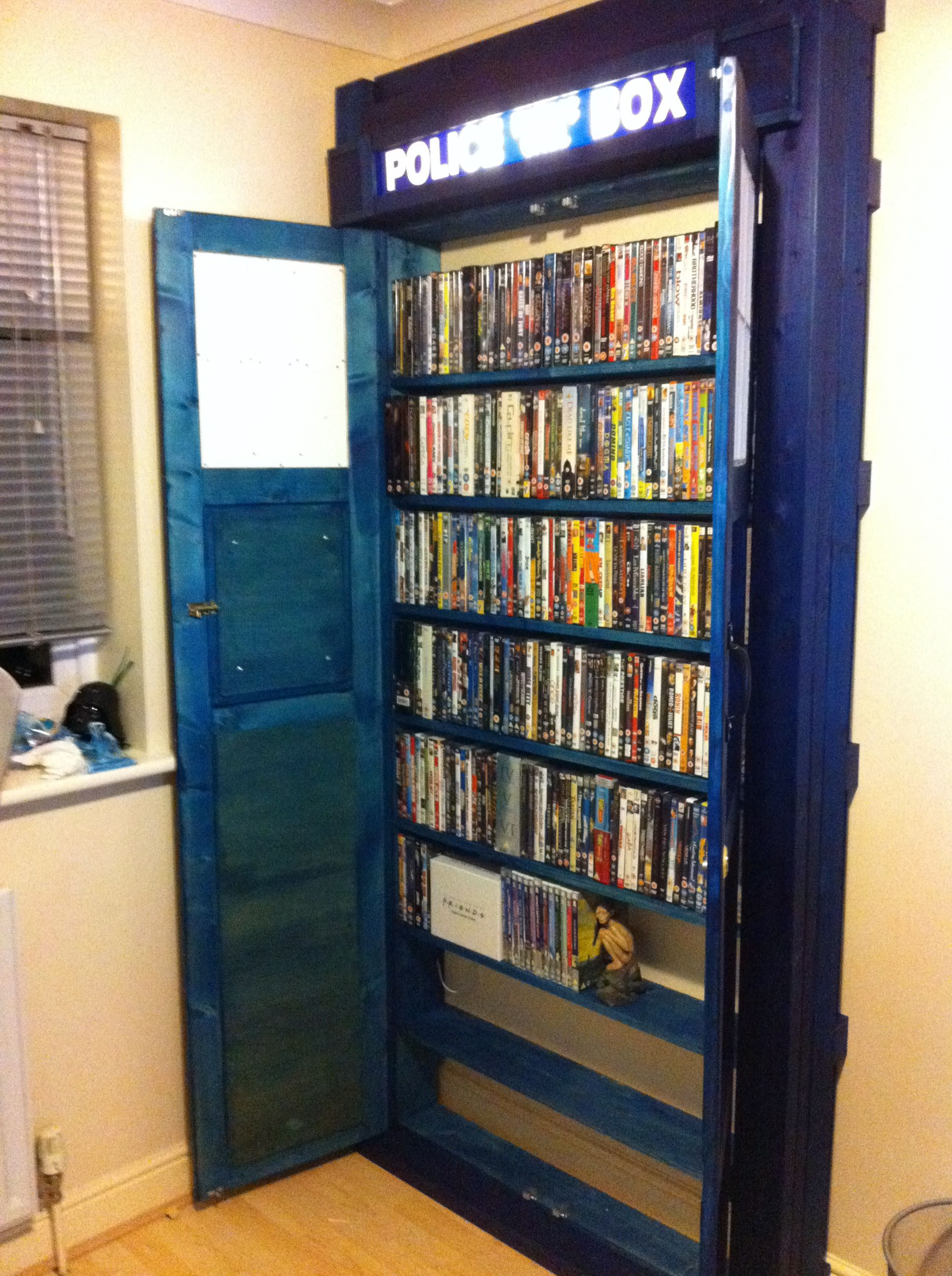 #tardis Built In Bookcase Go Anywhere In Time And Space