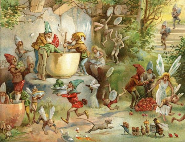 Book Of Gnomes - Illustration . Stuart Hardy