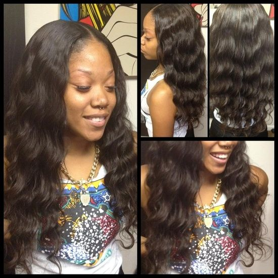 Sew In Hairstyles For Black Women Long Curly Hairstyle