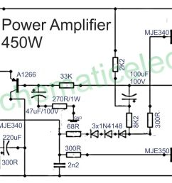 1500w power amplifier circuit and components layout circuit of power amplifiers with power output of [ 1600 x 718 Pixel ]