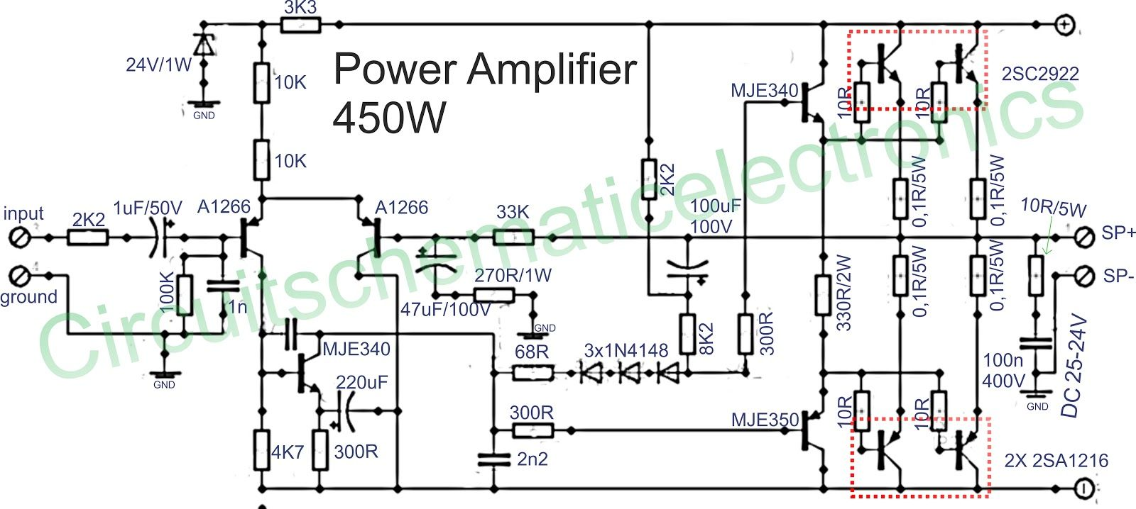 hight resolution of 1500w power amplifier circuit and components layout circuit of power amplifiers with power output of