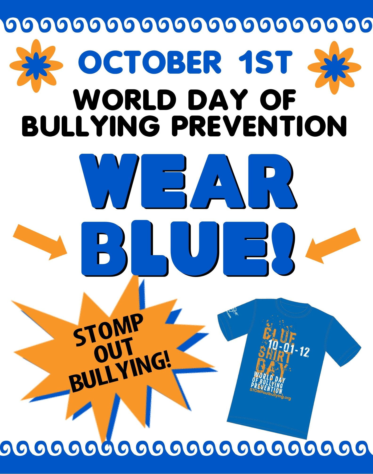 World Bullying Prevention Day Stomp Out Bullying