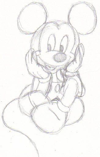 Pattern Dumbo Ears Cut Out