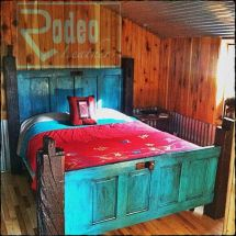 Bed Made with Old Doors