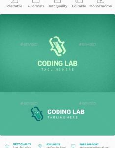Fonts also coding lab logo templates labs and symbol rh pinterest