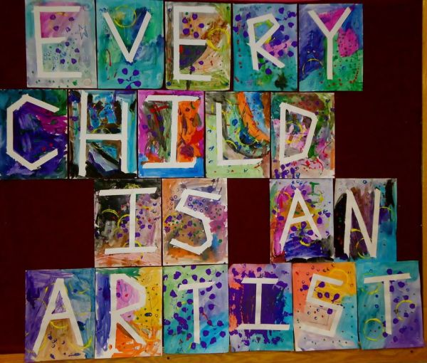 Art Classroom Bulletin Boards Ideas
