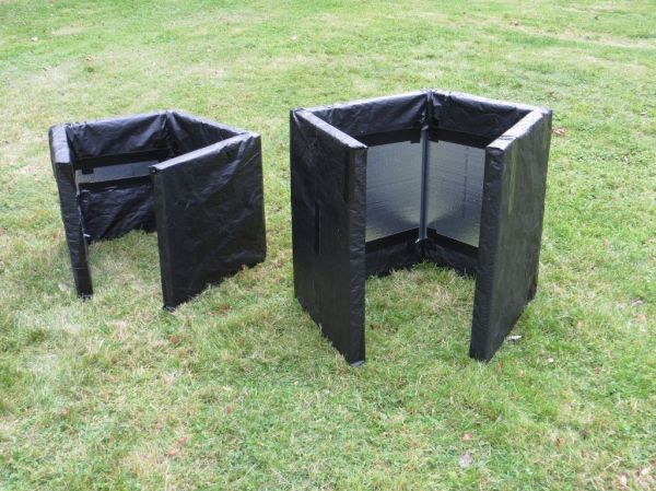 winterizing bee hives Repurposed bicycle inner tubes