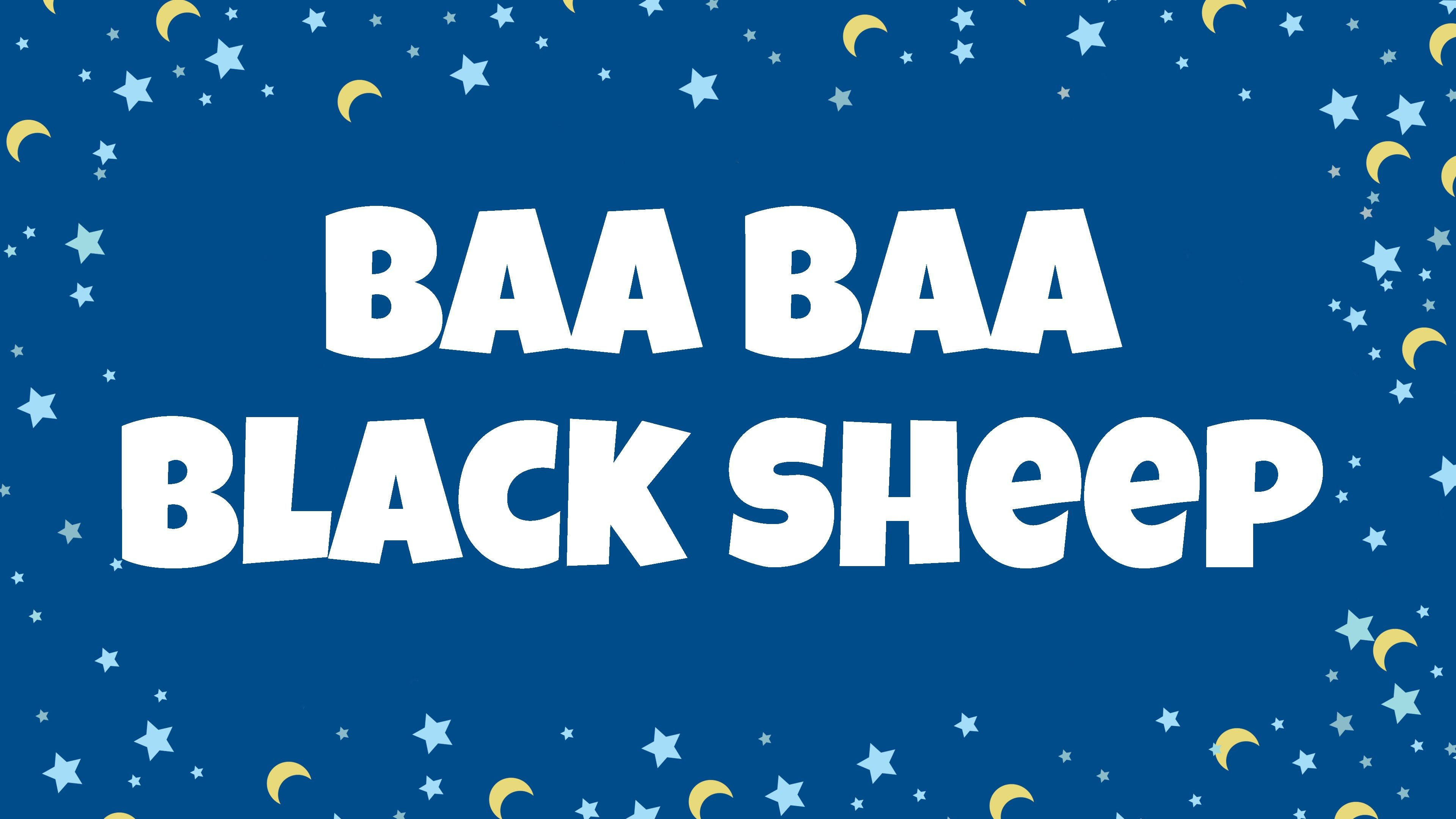 Baa Baa Black Sheep Nursery Rhyme For Kids Sing And Read
