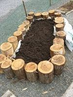 Raised Garden Beds With Logs Kurashi News From Japan