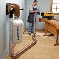 Rockler Dust Right Wall Mount Dust Collector Item ...