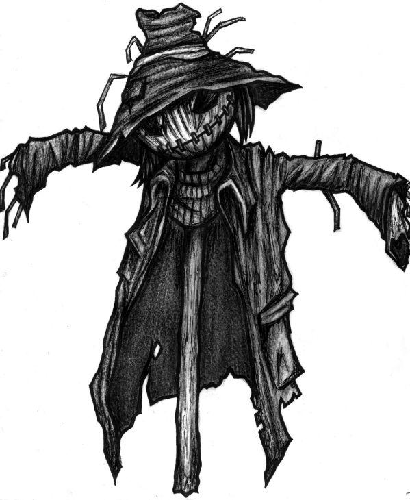 scarecrow art original