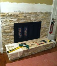 fireplace tile for wall | , Stone Wall Tile Fireplacemrs ...