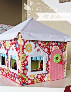 Petite maison folding dolls house houses pinterest card table playhouse playhouses and tent also rh