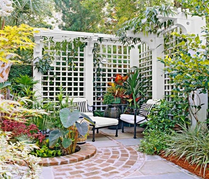 Garden Trellis Ideas Housetohomecouk 27 Garden Trellis And