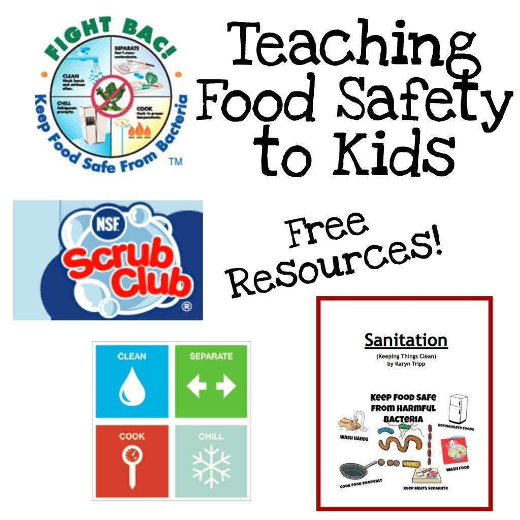 Fun Ways To Teach Food Safety