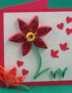 card with quilled flowers also pin by alida lopez on origami pinterest rh