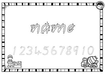 EDITABLE name TRACING TEMPLATE BUNDLE in Beginners Qld