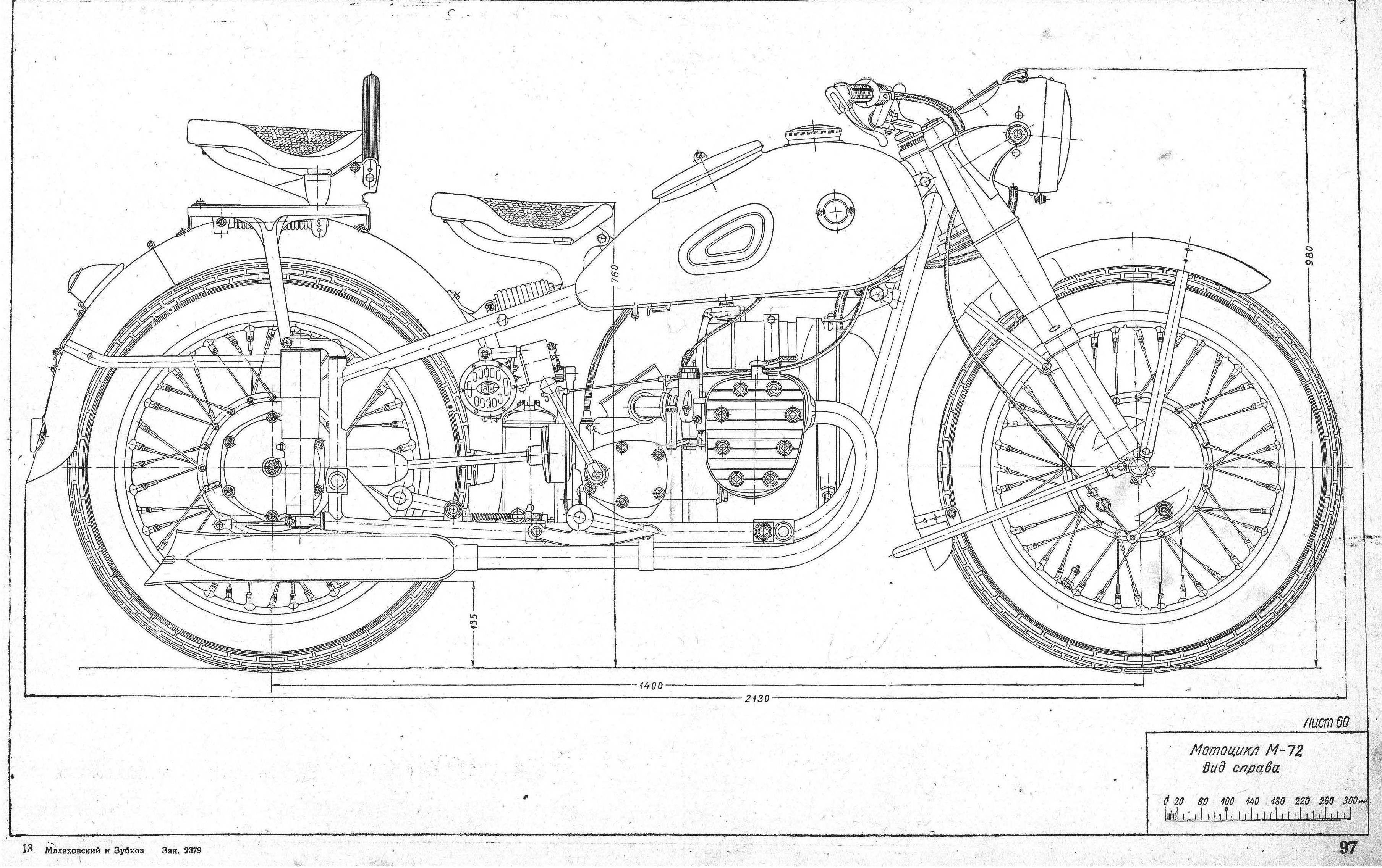 Dnepr M 72 Blueprint