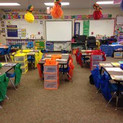 Classroom Chair Covers With Pocket Stool In Spanish Pockets Fun Colorful Carpeted Middle School