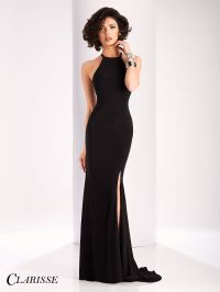 Clarisse Chic Cut Out Back Prom Dress 3106 | Long prom ...