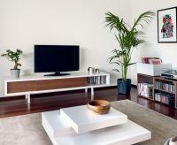 Minimalist Walnut TV Stand | Apartment | Pinterest | Tv ...